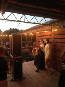 Open Air Configuration Photo Booth - We Bring the Party Events