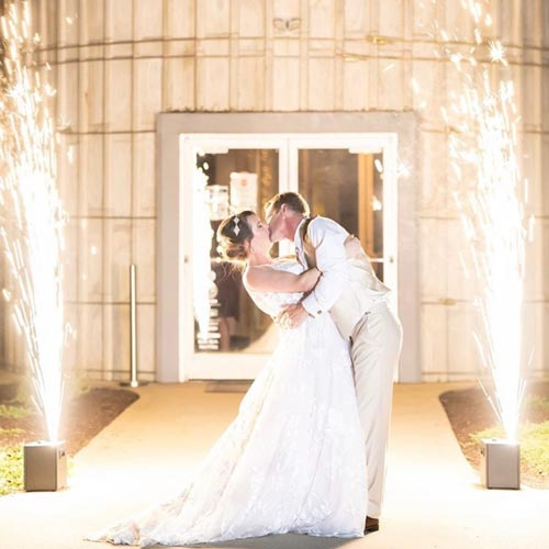 Uplighting for Weddings & Events